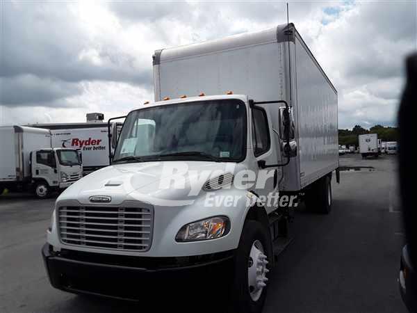 2012 FREIGHTLINER M2 106 BOX VAN TRUCK #663023