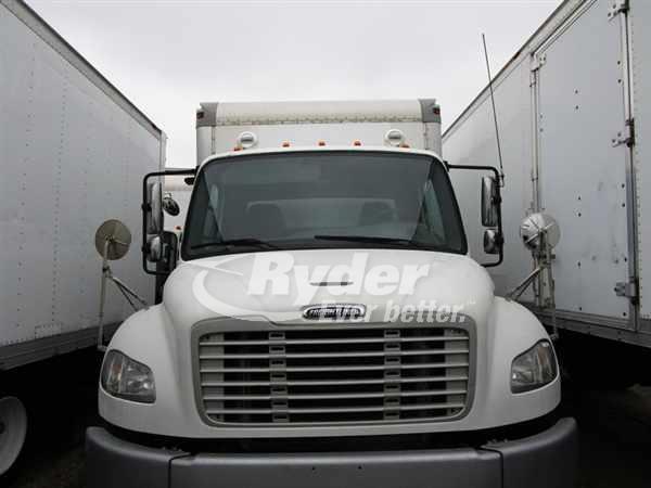 USED 2012 FREIGHTLINER M2 106 BOX VAN TRUCK #669086