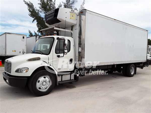USED 2012 FREIGHTLINER M2 106 REEFER TRUCK #663292