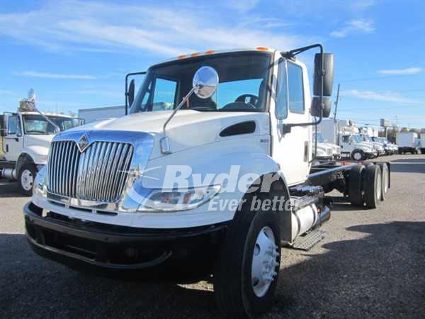USED 2012 NAVISTAR INTERNATIONAL 4400 CAB CHASSIS TRUCK #663039
