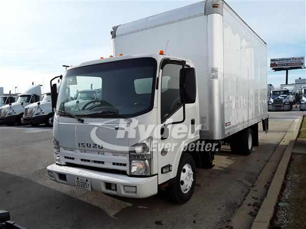 USED 2011 ISUZU NPR HD BOX VAN TRUCK #660538