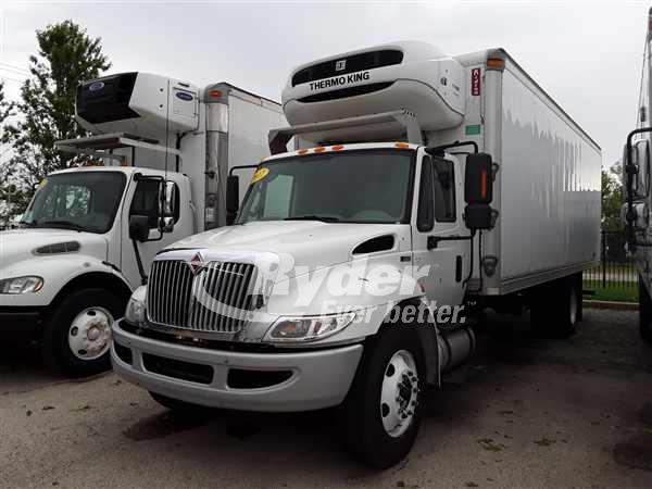 USED 2012 NAVISTAR INTERNATIONAL 4300 REEFER TRUCK #661154