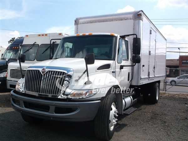 USED 2013 NAVISTAR INTERNATIONAL 4300 BOX VAN TRUCK #662855
