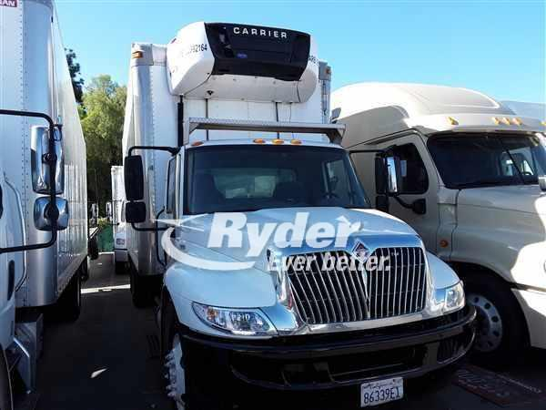 USED 2012 NAVISTAR INTERNATIONAL 4300 REEFER TRUCK #668193