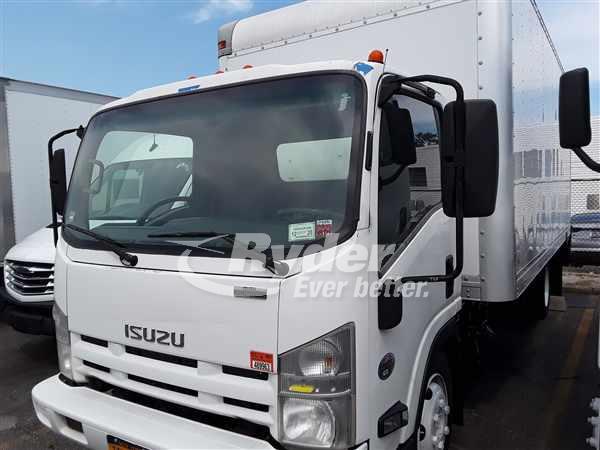 USED 2012 ISUZU NRR BOX VAN TRUCK #662887