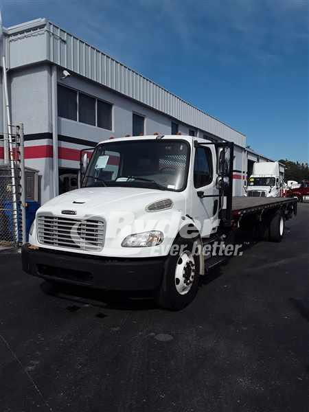 USED 2011 FREIGHTLINER M2 106 FLATBED TRUCK #659742