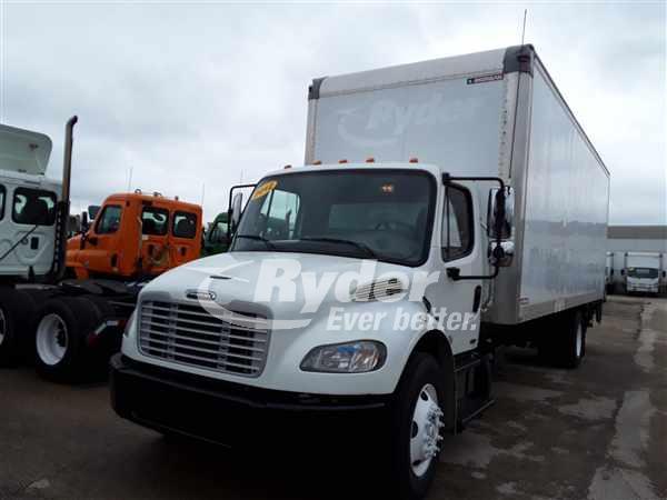 USED 2012 FREIGHTLINER M2 106 BOX VAN TRUCK #662474