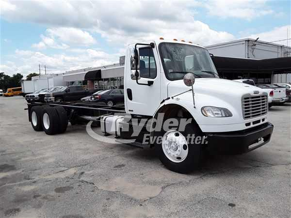 USED 2012 FREIGHTLINER M2 106 CAB CHASSIS TRUCK #662051