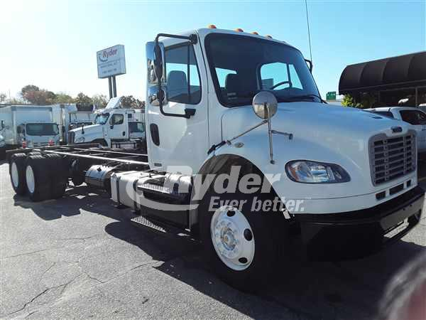 2012 FREIGHTLINER M2 106 CAB CHASSIS TRUCK #668742