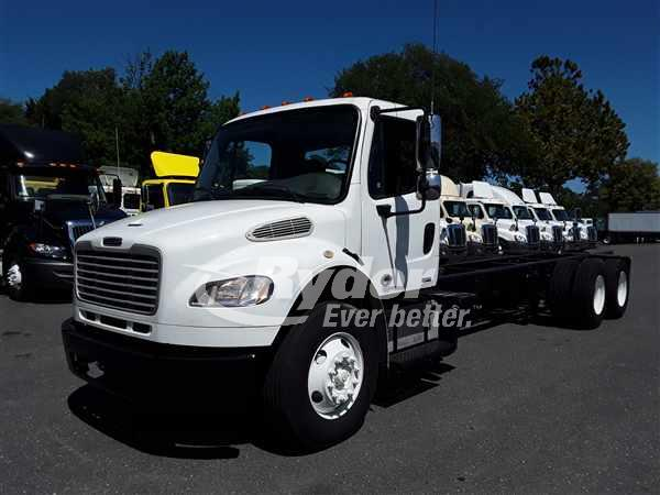 USED 2012 FREIGHTLINER M2 106 CAB CHASSIS TRUCK #663400
