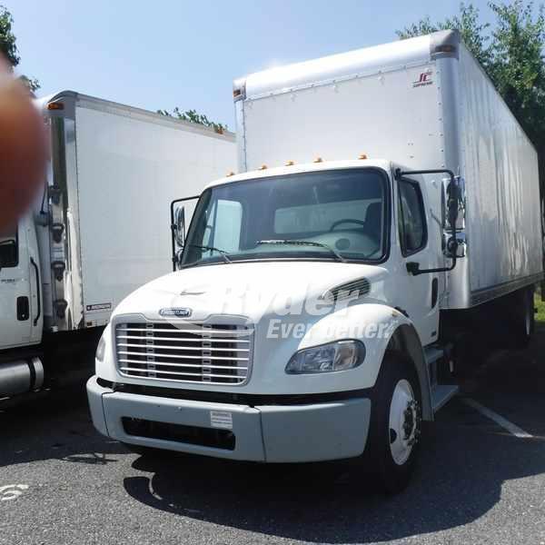 USED 2012 FREIGHTLINER M2 106 BOX VAN TRUCK #662706
