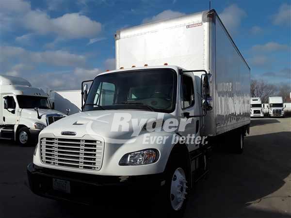 USED 2012 FREIGHTLINER M2 106 BOX VAN TRUCK #662412