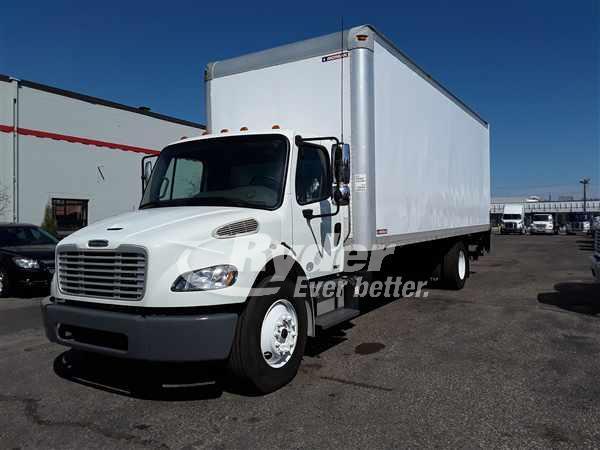 USED 2012 FREIGHTLINER M2 106 BOX VAN TRUCK #662414