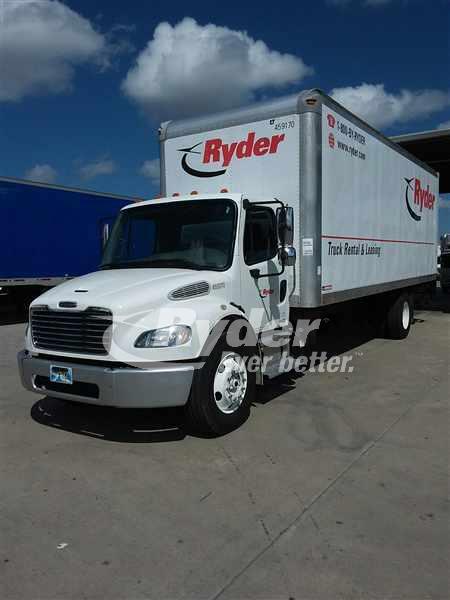 2012 FREIGHTLINER M2 106 BOX VAN TRUCK #659855