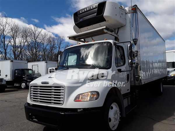 USED 2012 FREIGHTLINER M2 106 REEFER TRUCK #662683
