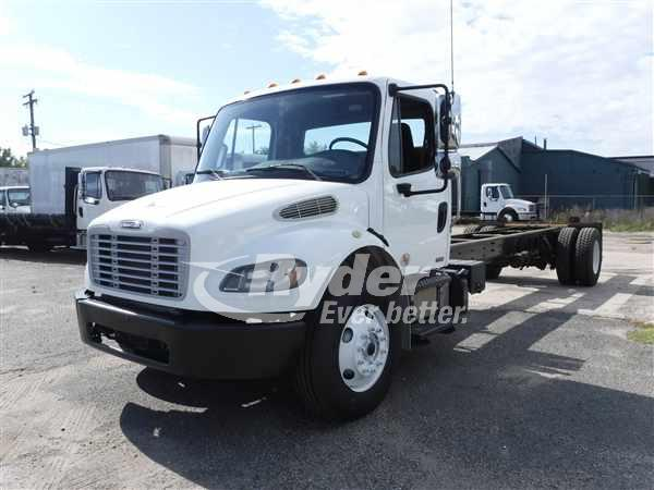 2012 FREIGHTLINER M2 106 CAB CHASSIS TRUCK #663867