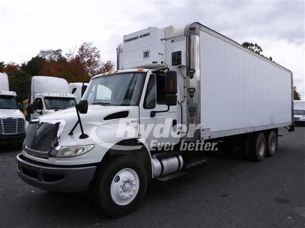 USED 2012 NAVISTAR INTERNATIONAL 4400 REEFER TRUCK #668027