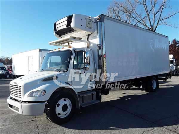 USED 2012 FREIGHTLINER M2 106 REEFER TRUCK #659807