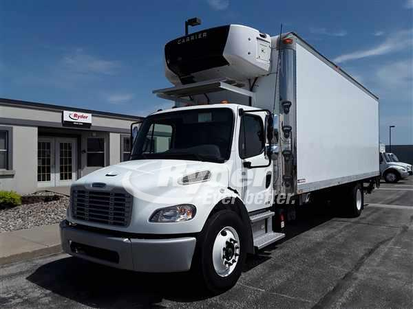 USED 2012 FREIGHTLINER M2 106 REEFER TRUCK #660923