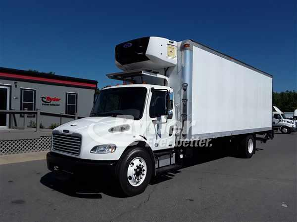USED 2012 FREIGHTLINER M2 106 REEFER TRUCK #662645