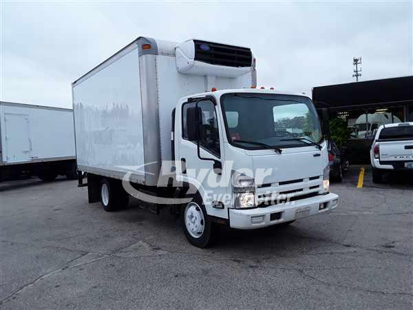 USED 2013 ISUZU NRR REEFER TRUCK #669351