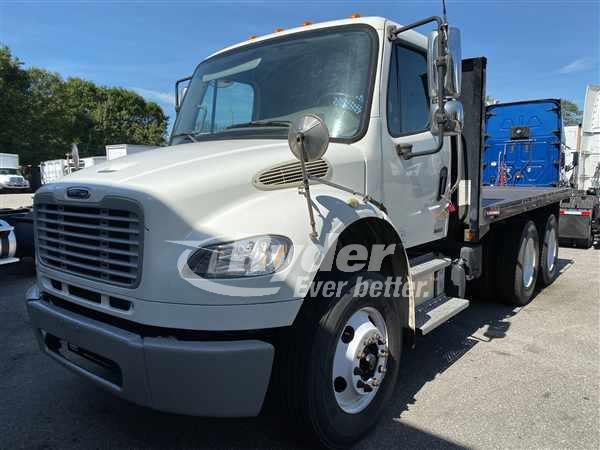 USED 2012 FREIGHTLINER M2 106 FLATBED TRUCK #668204
