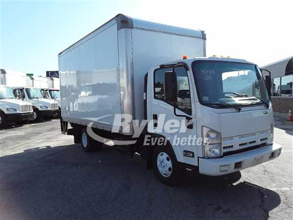 USED 2012 ISUZU NPR HD BOX VAN TRUCK #663287