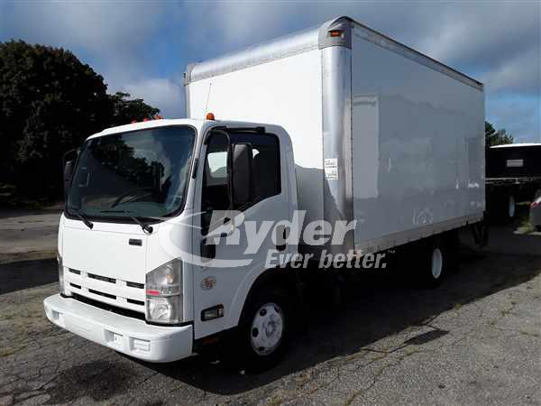 USED 2012 ISUZU NPR HD BOX VAN TRUCK #667260