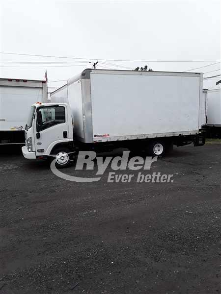 USED 2012 ISUZU NPR HD BOX VAN TRUCK #662201