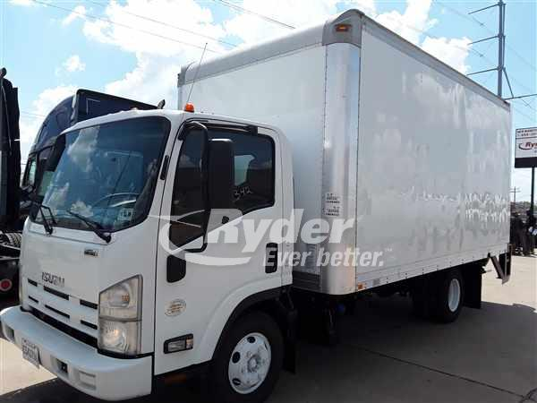 USED 2012 ISUZU NPR HD BOX VAN TRUCK #663357