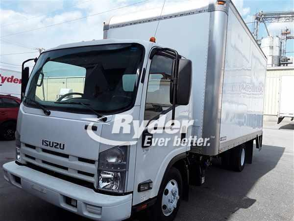 USED 2012 ISUZU NPR HD BOX VAN TRUCK #660506