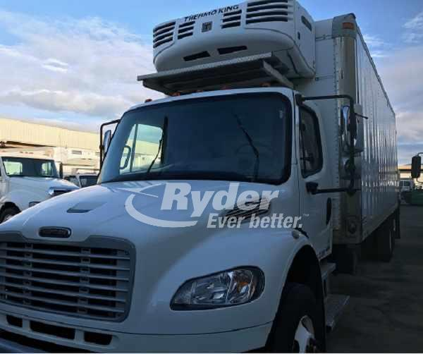 USED 2009 FREIGHTLINER M2 106 REEFER TRUCK #661005