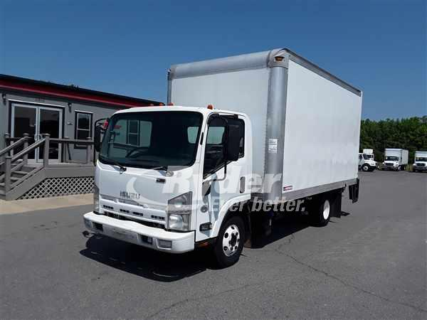 USED 2012 ISUZU NPR HD BOX VAN TRUCK #661631