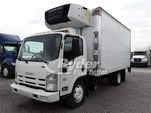 USED 2012 ISUZU NRR REEFER TRUCK #663068
