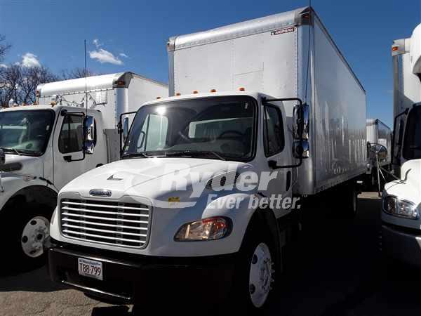 USED 2012 FREIGHTLINER M2 106 BOX VAN TRUCK #662485