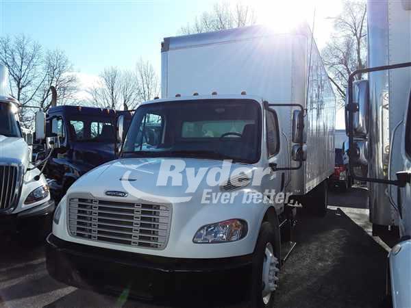 USED 2012 FREIGHTLINER M2 106 BOX VAN TRUCK #662491