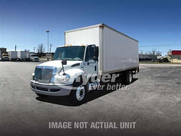 USED 2013 NAVISTAR INTERNATIONAL 4300 BOX VAN TRUCK #662437
