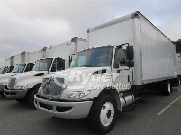 2013 NAVISTAR INTERNATIONAL 4300 BOX VAN TRUCK #667045