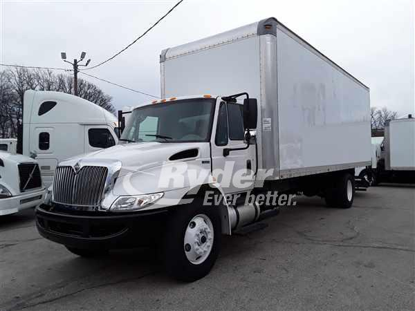 USED 2013 NAVISTAR INTERNATIONAL 4300 BOX VAN TRUCK #662455
