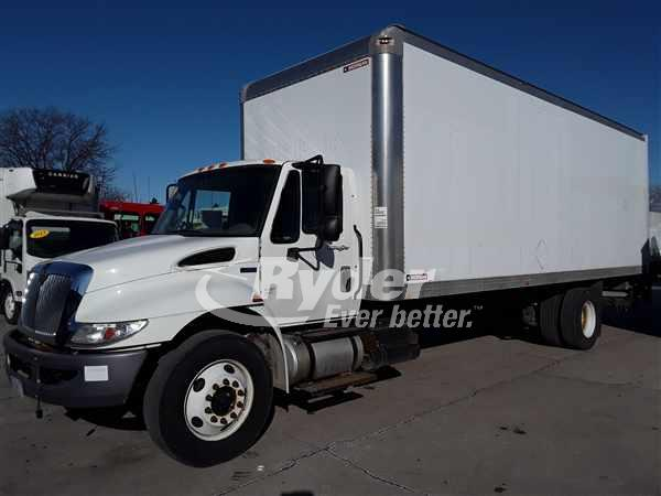 USED 2013 NAVISTAR INTERNATIONAL 4300 BOX VAN TRUCK #662484