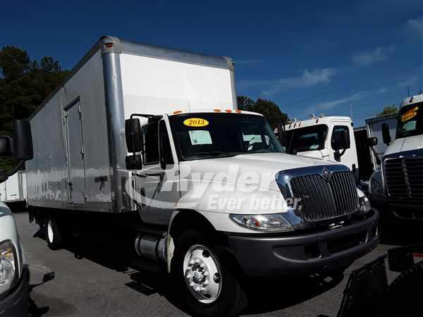USED 2013 NAVISTAR INTERNATIONAL 4300 BOX VAN TRUCK #662487