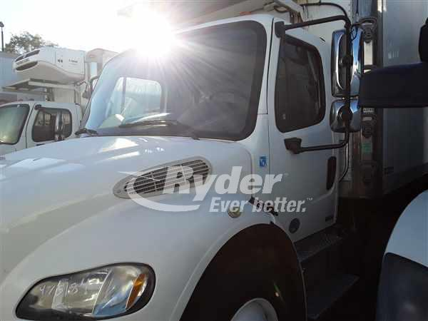 USED 2012 FREIGHTLINER M2 106 REEFER TRUCK #668741