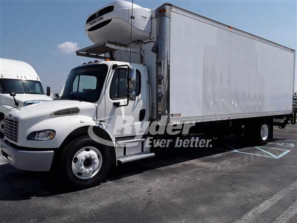 2012 FREIGHTLINER M2 106 REEFER TRUCK #662374
