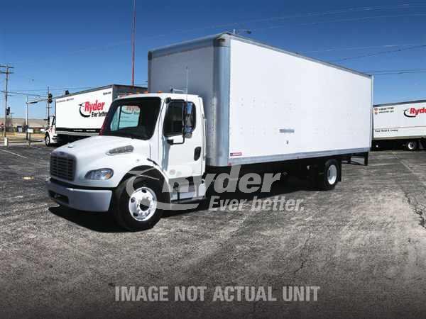 USED 2012 FREIGHTLINER M2 106 BOX VAN TRUCK #662493