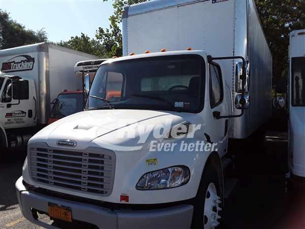 USED 2012 FREIGHTLINER M2 106 BOX VAN TRUCK #663320
