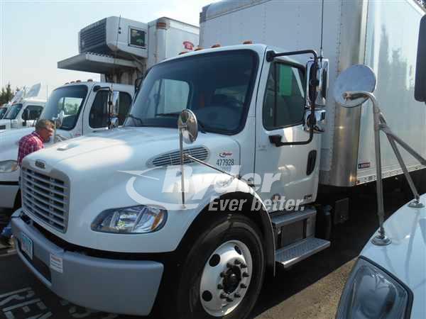 USED 2012 FREIGHTLINER M2 106 BOX VAN TRUCK #661701