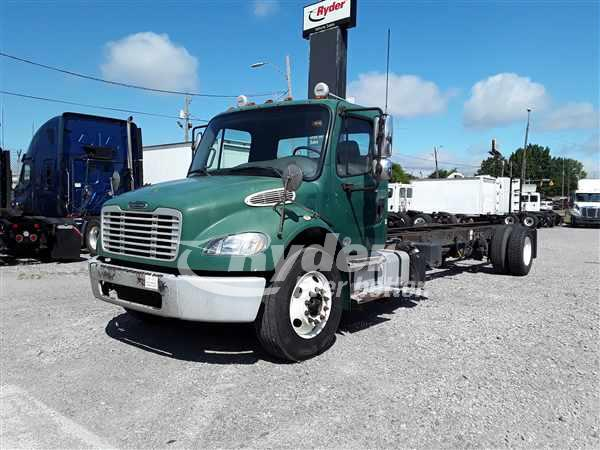 USED 2013 FREIGHTLINER M2 106 CAB CHASSIS TRUCK #663049