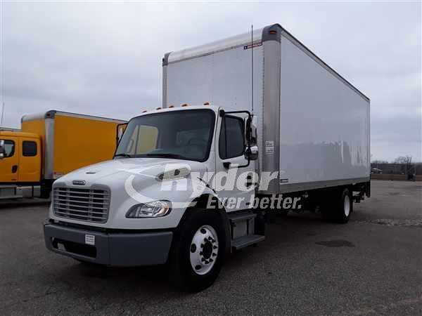 2012 FREIGHTLINER M2 106 BOX VAN TRUCK #662521