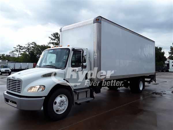 USED 2012 FREIGHTLINER M2 106 BOX VAN TRUCK #663876
