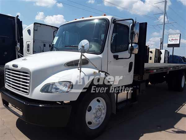 USED 2013 FREIGHTLINER M2 106 FLATBED TRUCK #663389